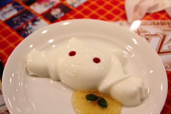 キュゥべえの杏仁豆腐